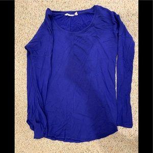 Athleta blue top - size XS